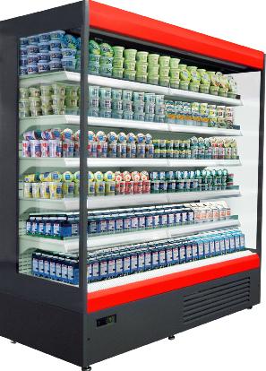 Холодильные горки Aura UBC