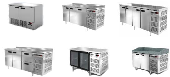 Холодильные столы Модерн Экспо (Modern-Expo)